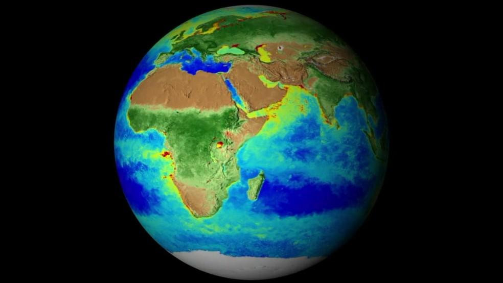 O registro das mudanças na Terra pode ajudar até na busca por vida em outros planetas, garantem os cientistas. — Foto: BBC