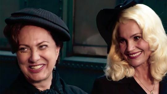 Flávia Alessandra e Eliane Giardini emocionam em primeiras cenas de 'Êta Mundo Bom!'; vídeo