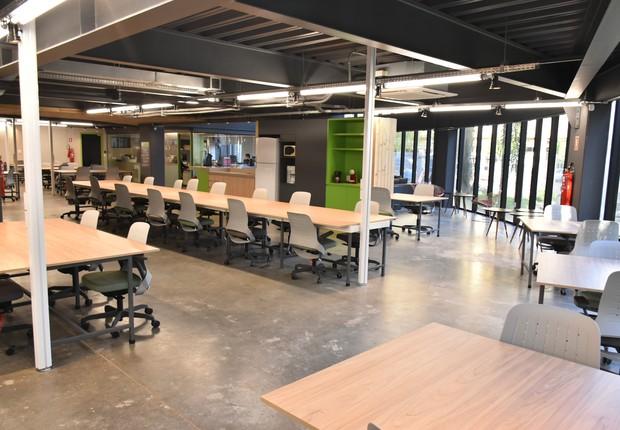 Centro de inovação aberto pela Santa casa da capital gaúcha pode receber até 70 profissionais (Foto: Rogério Brandão/Santa Casa de Porto Alegre)