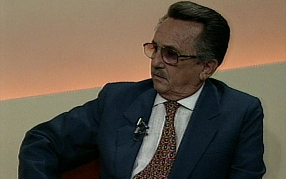 Luíz Belém de Alencar era desembargador aposentado do TJPE — Foto: Reprodução/TV Globo