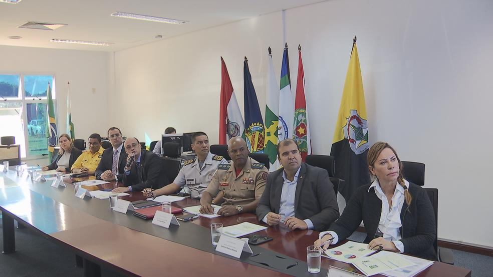 Secretaria de Segurança Pública apresenta dados de crimes violentos no 1º semestre de 2018 (Foto: TV Globo/Reprodução)