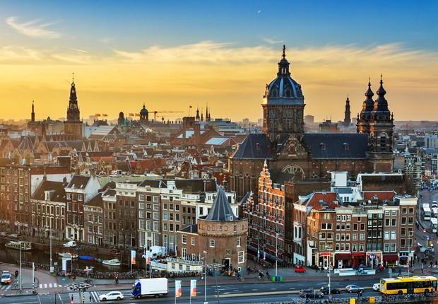 Amsterdã na Holanda (Foto: Shutterstock)