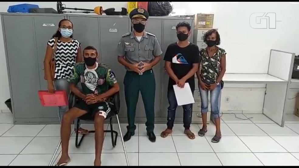 Comandante-geral da PM pede desculpas a jovem baleado por policial no MA; VÍDEO | Maranhão | G1
