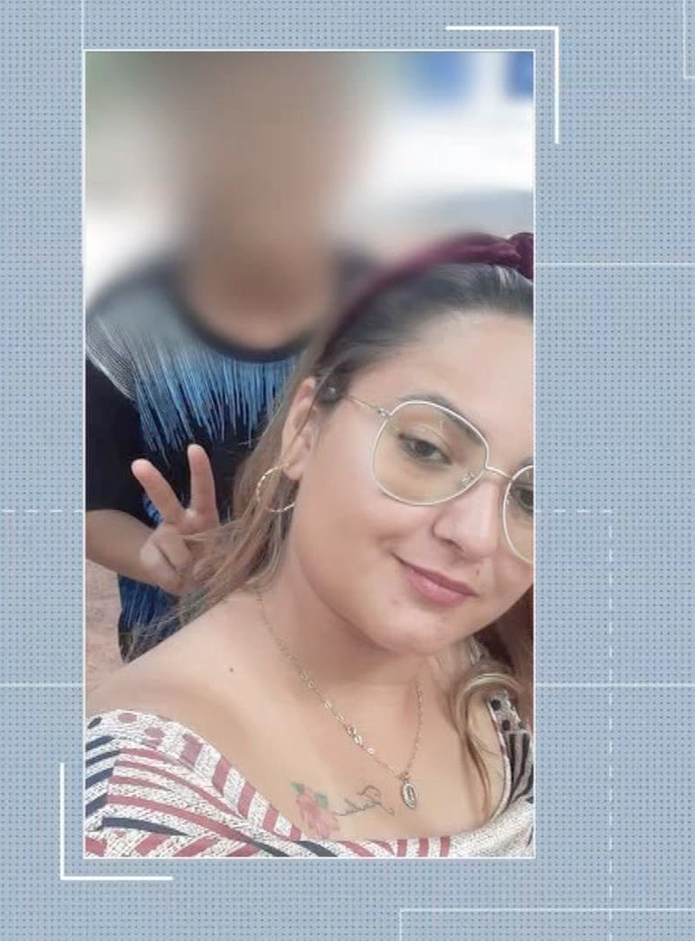 Michelle Quintana de Mello, de 27 anos, morreu em Rondonópolis — Foto: TV Centro América/Reprodução