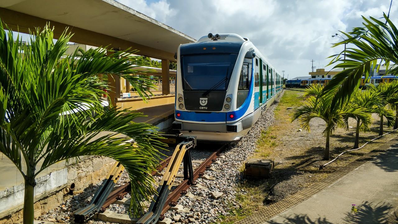 CBTU altera linha Norte após danos causados pela chuva em via férrea na Grande Natal