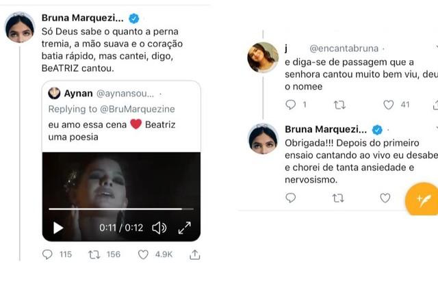 Bruna Marquezine relata nervosismo em preparação de 'Nada será como antes' (Foto: Reprodução)