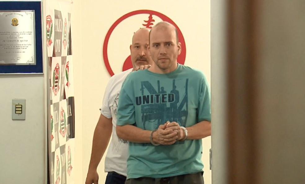 O empresário Fernando Ganci matou tatuador em briga de trânsito em São Carlos — Foto: Reprodução/EPTV