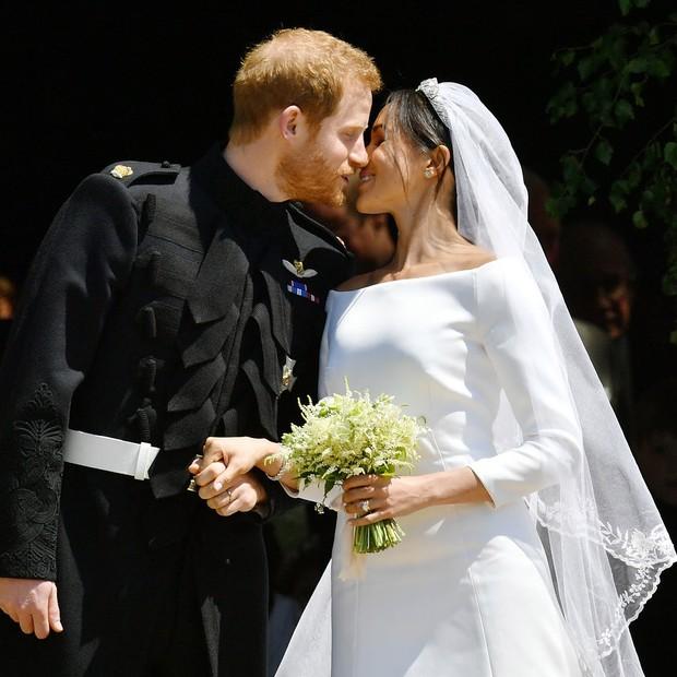 Meghan Markle e Harry (Foto: Getty Images)