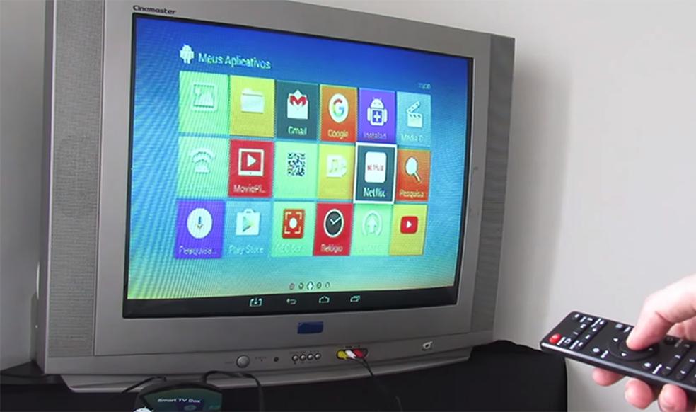 Smart TV Box pode ser conectada a televisores antigos (Foto: Reprodução/Multilaser)