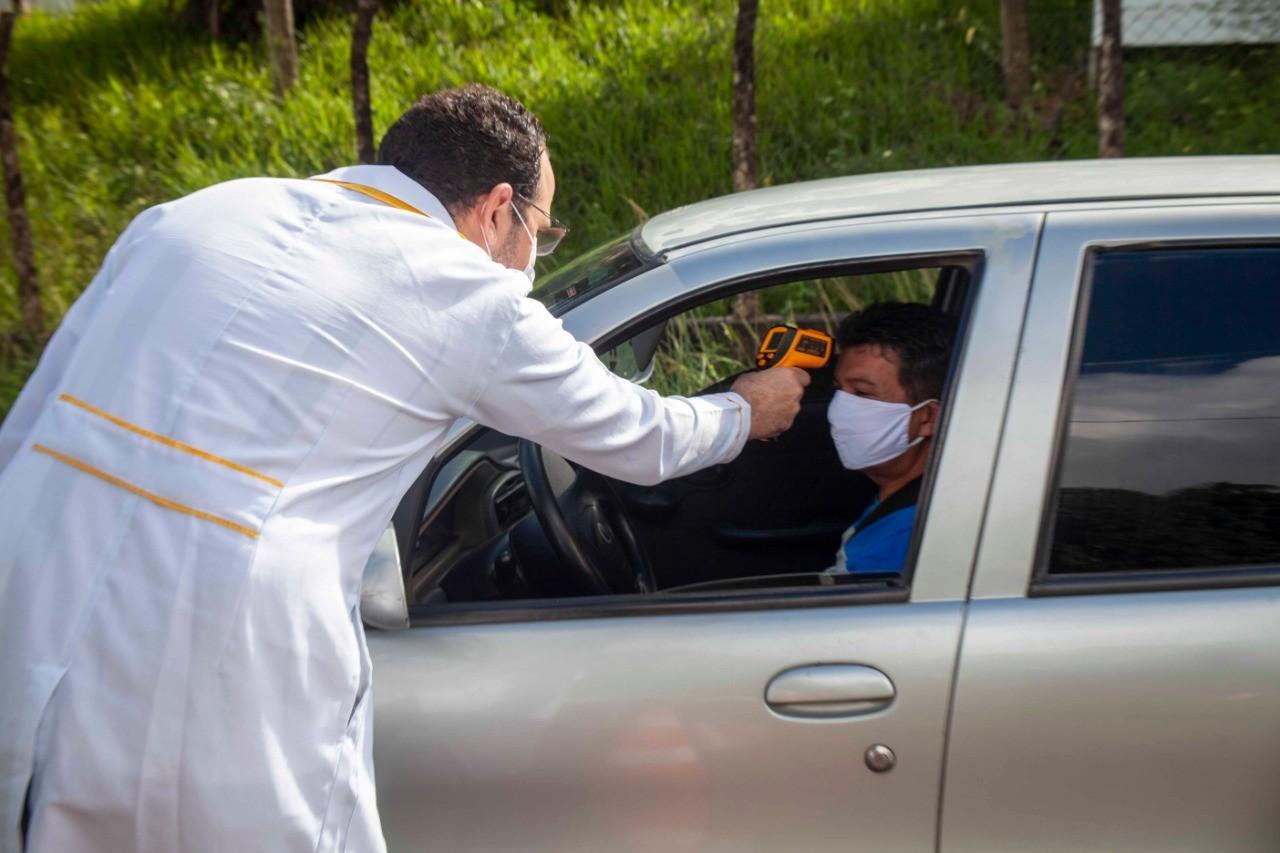 Casos de coronavírus na Paraíba em 13 de julho