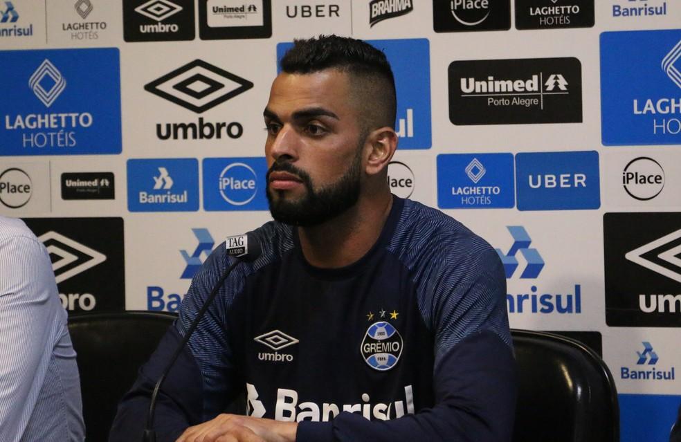 Maicon Grêmio (Foto: Eduardo Moura)