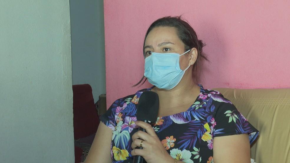A dona de casa Rafaela Dantas — Foto: TV Globo/Reprodução