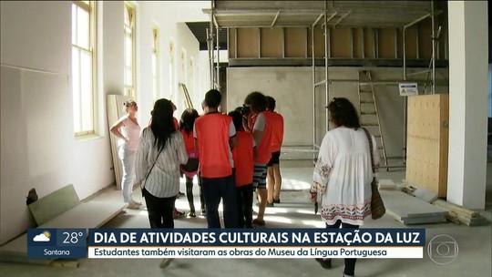 Estação da Luz recebe atividades pra comemorar dia internacional da língua portuguesa