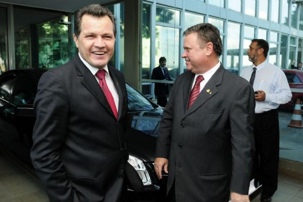 Silval disse que procurou Maggi com o intuito de obter recursos para pagar a dívida com os parlamentares. (Foto: Josi Pettengill/Secom-MT)