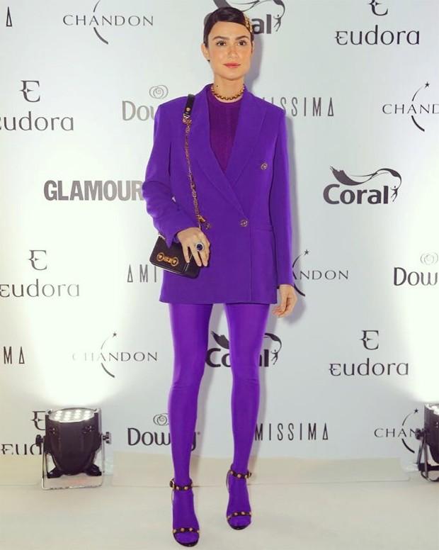 Thaila Ayala no prêmio Geração Glamour (Foto: Reprodução/Instagram)