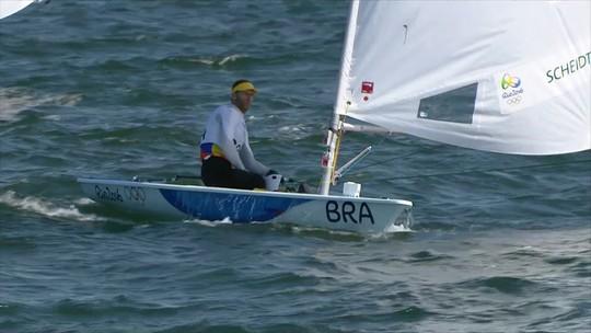 """Após Rio 2016, Scheidt nem pensa em aposentadoria: """"É difícil parar"""""""
