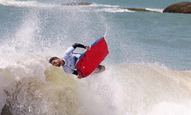 Eder Luciano é um dos destaques do cenário nacional do bodyboarding