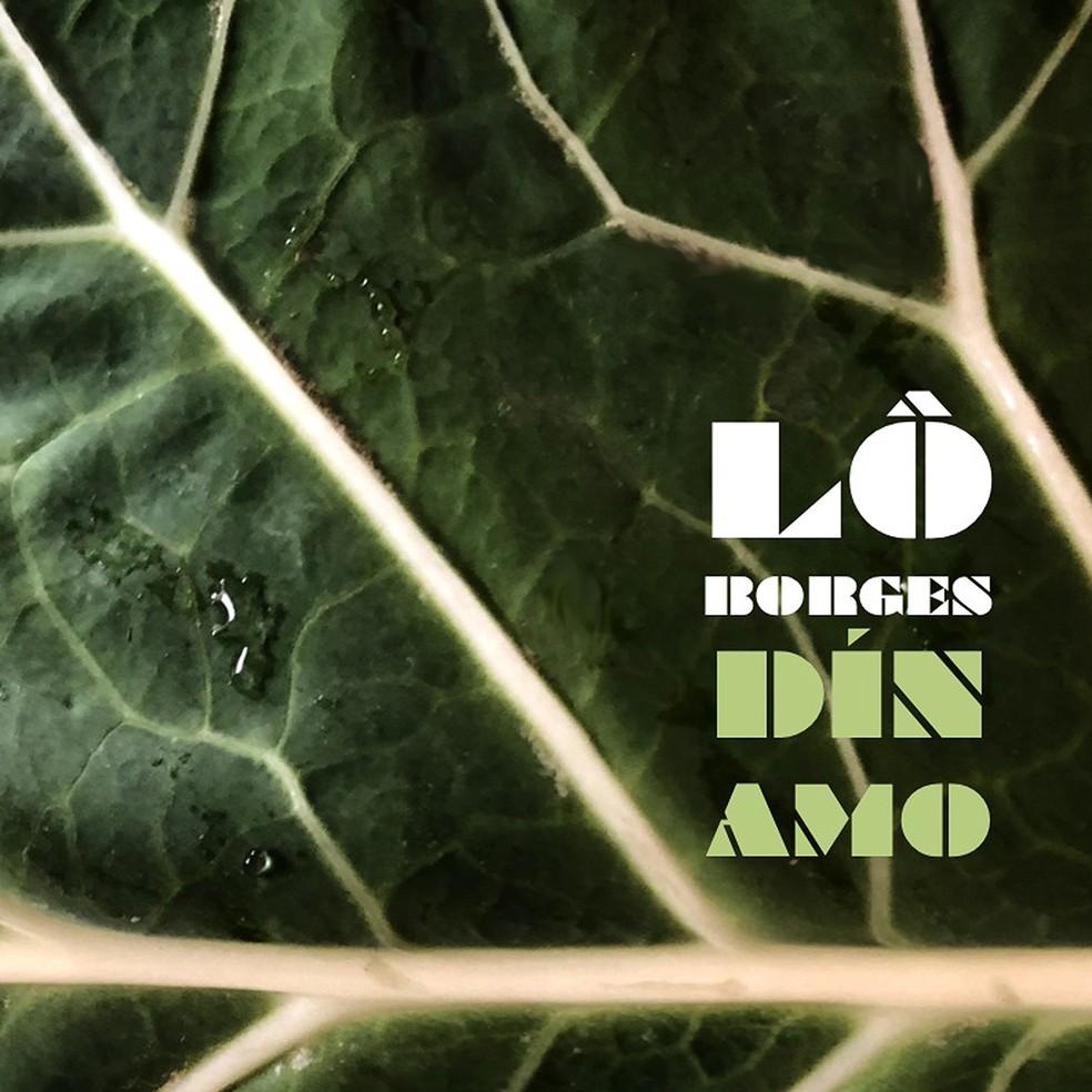 Capa do álbum 'Dínamo', de Lô Borges — Foto: Divulgação / Deck