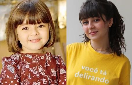 Klara Castanho começou aos 6 anos na série 'Mothern', do GNT. Hoje, aos 20, acaba de estrear o filme 'Confissões de uma garota excluída', na Netflix Reprodução