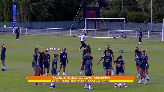 Sem Formiga, seleção brasileira faz as contas para jogo decisivo pela Copa do Mundo