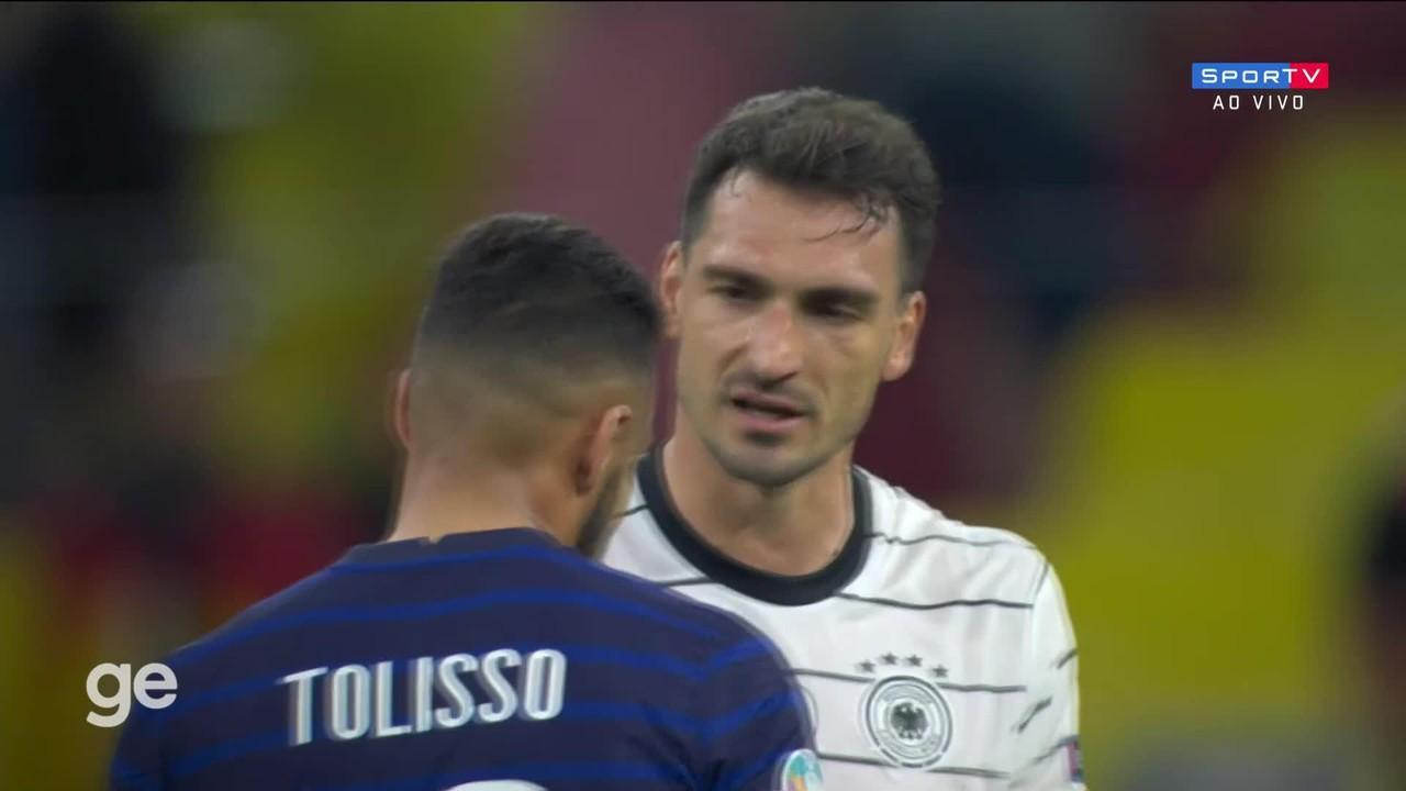 Veja os melhores momentos de França 1 x 0 Alemanha