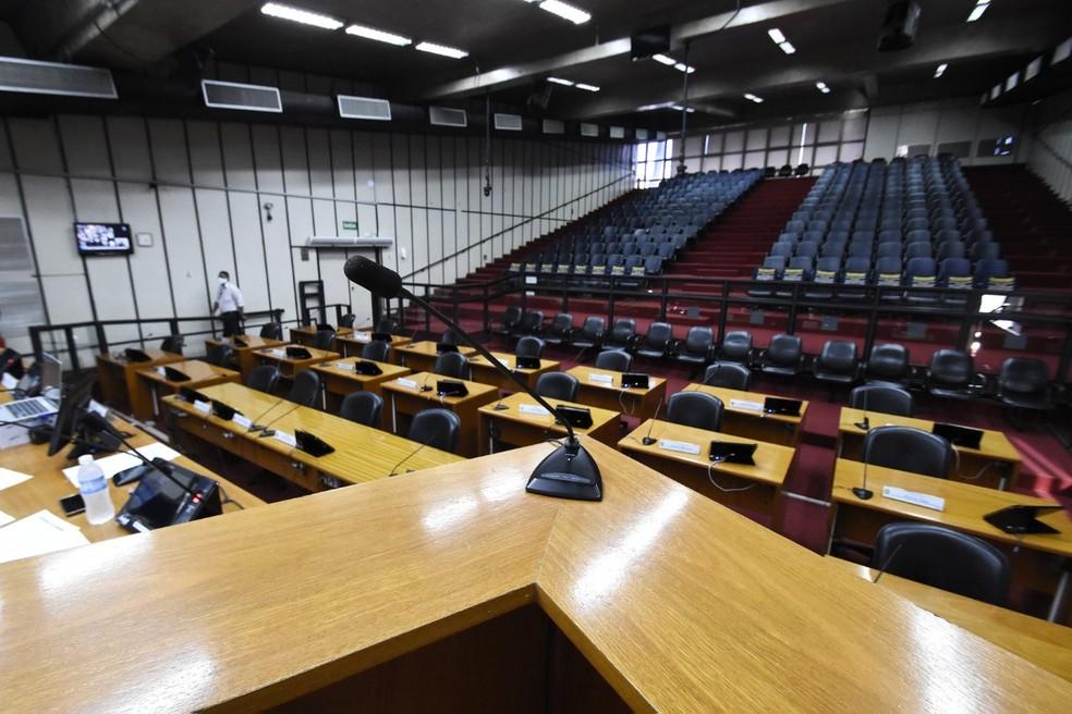 Vereadores foram condenados a devolver parte do salário após reajuste de 2014 — Foto: Allan S. Ribeiro/Câmara de Ribeirão Preto