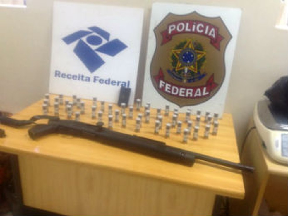 Rafael Ilha foi preso na tarde desta segunda-feira (21) em Foz do Iguaçu — Foto: Divulgação/Polícia Federal