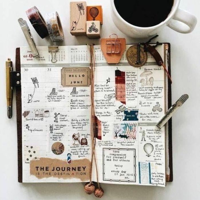 9f2d535ed Bullet journal  4 dicas simples para personalizar a sua agenda ...