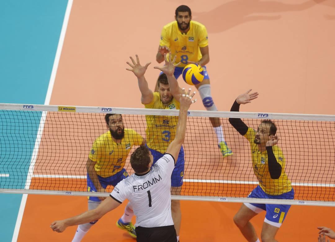 7228dc32b7 Liga das Nações (masculino)  Brasil 3x0 Alemanha