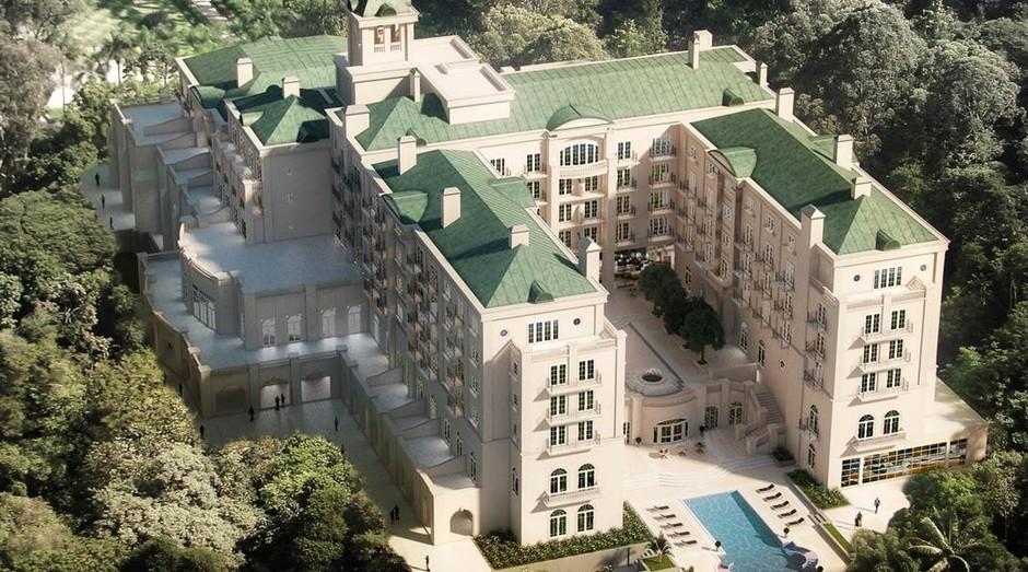 Palácio Tangará: diárias de até R$ 38 mil (Foto: Divulgação)