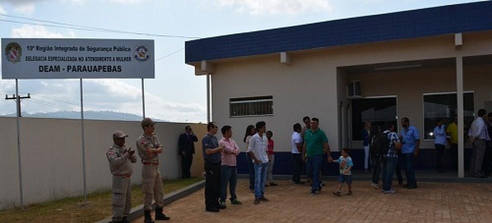 Delegacia de Parauapebas, sudeste do Pará — Foto: Polícia Civil