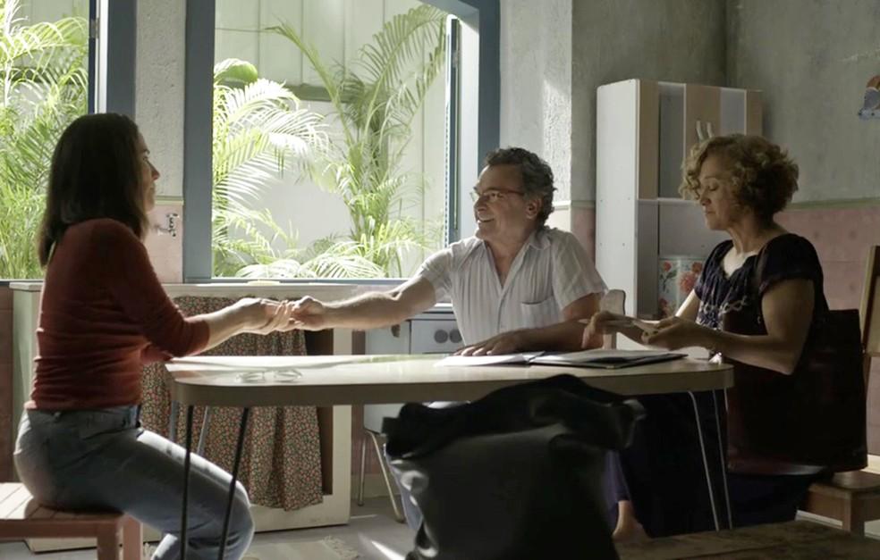 Duda fecha negócio e tem nova casa para morar (Foto: TV Globo)