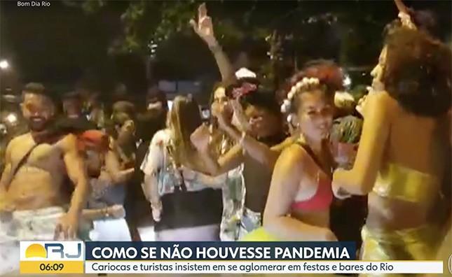 Por muito tempo essas cenas, no meio de uma tragédia sanitária, mancharão a imagem do Rio. O preço em vidas chegará em breve.