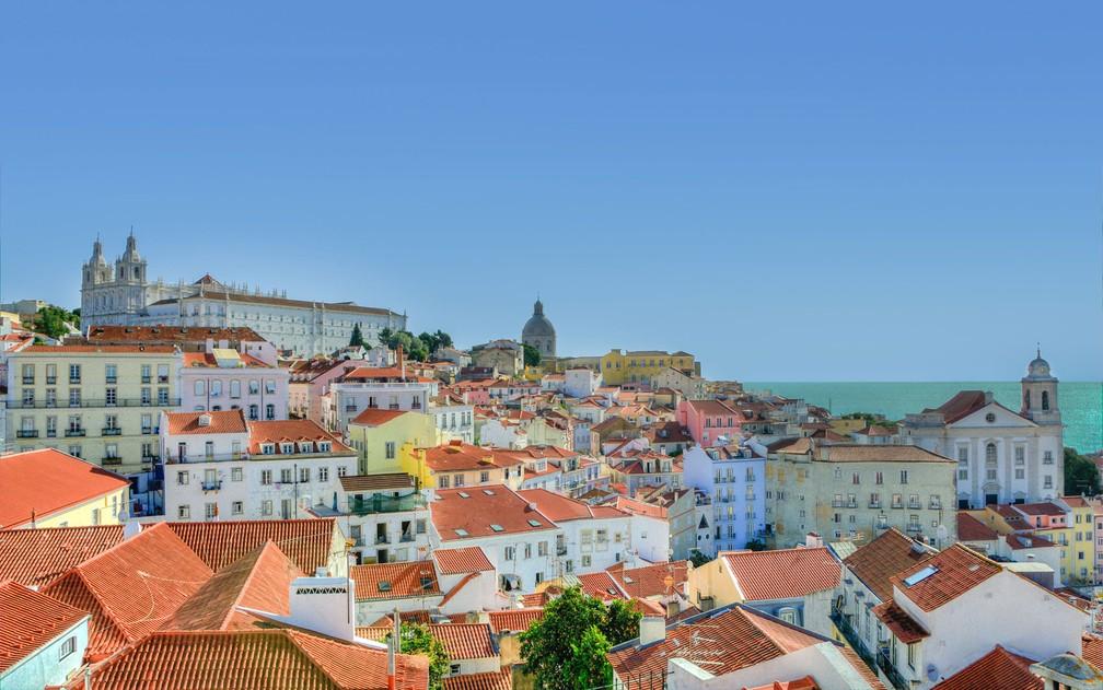 A capital Lisboa é a cidade que mais atrai estrangeiros em Portugal — Foto: Skitterphoto/Creative Commons