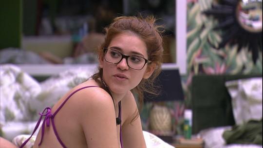 Ana Clara especula sobre Jaqueline: 'Quem será que ela vai tirar do Veto do Líder?'