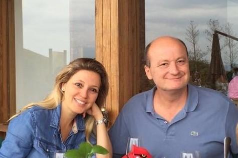 Patricia De Sabrit e Olivier Murguet (Foto: Arquivo pessoal)