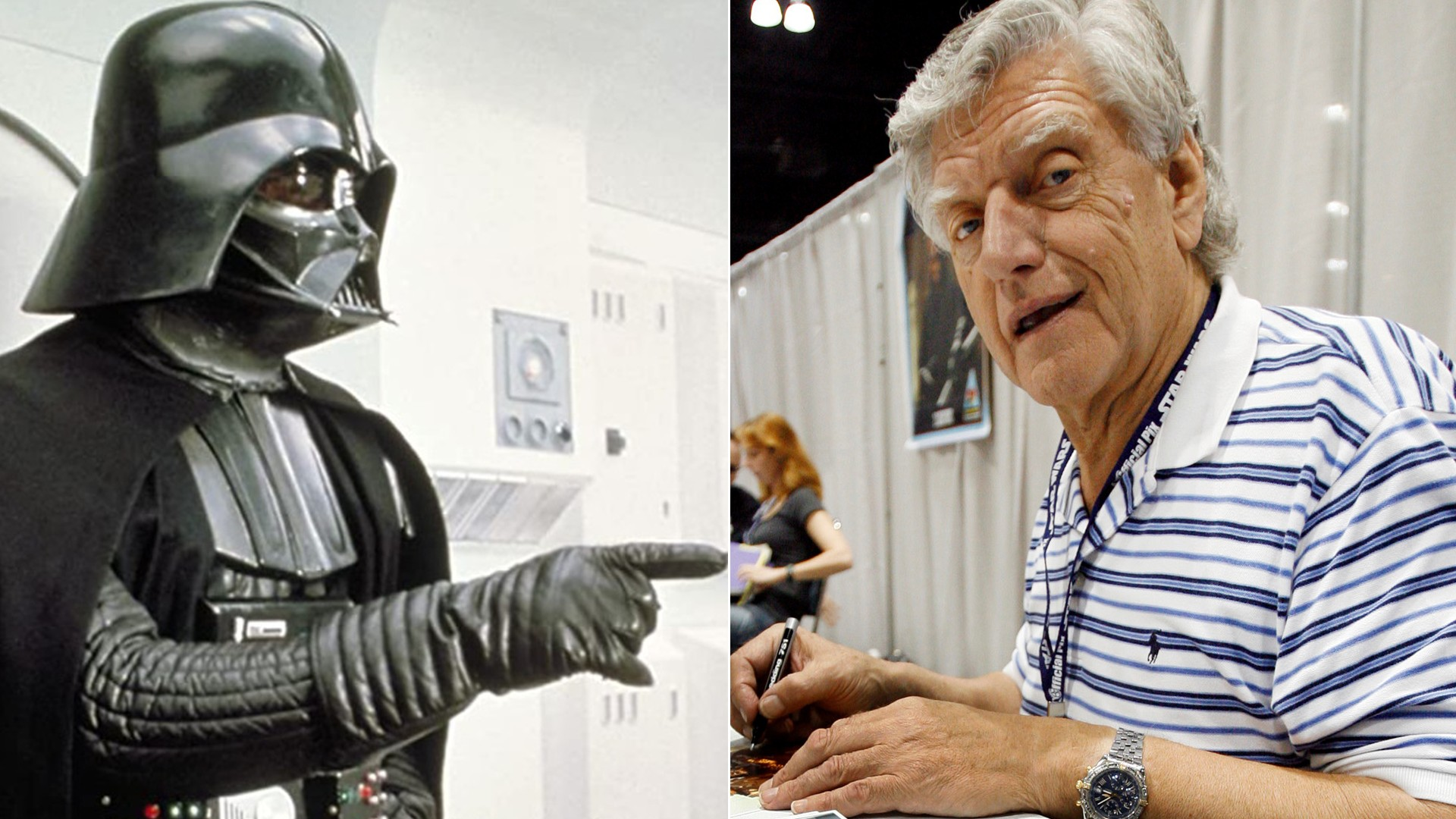David Prowse, intérprete de Darth Vader, morre aos 85 anos