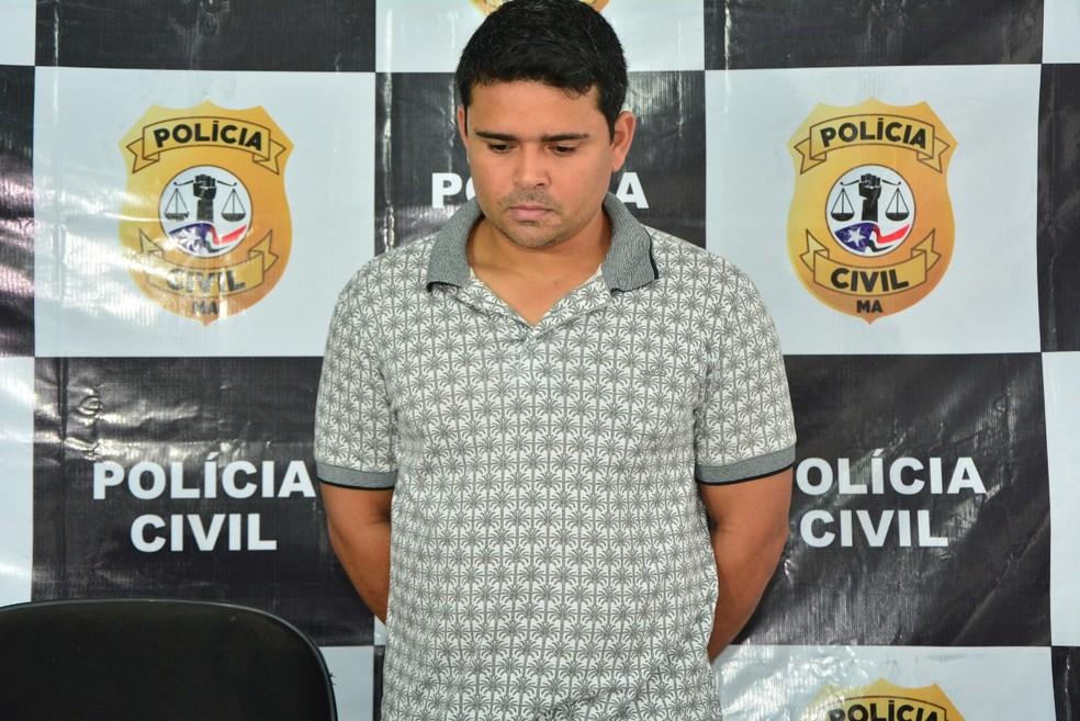 Linderson Dourado Alves é considerado pela polícia como o líder de um esquema de fornecimento ilegal de internet — Foto: Divulgação/Polícia Civil