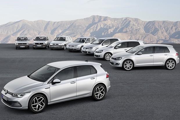 Ao todo, Volkswagen Golf tem oito gerações (Foto: Divulgação)