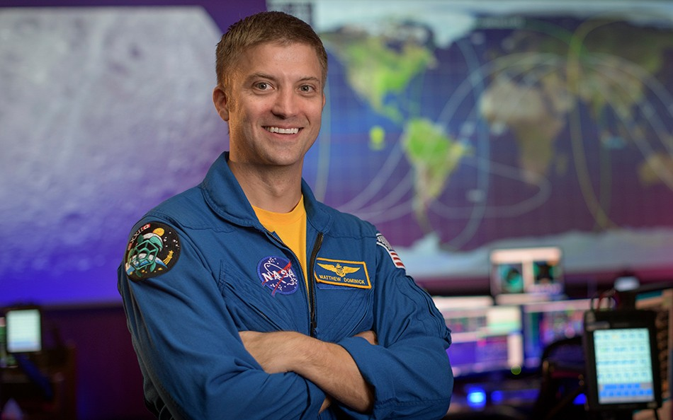 Matthew Dominic (Foto: NASA / Bill Ingalls)