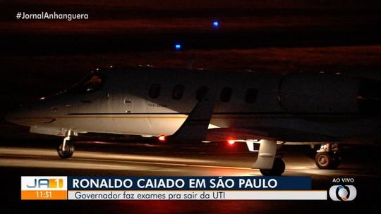 Governador de Goiás Ronaldo Caiado segue internado em São Paulo