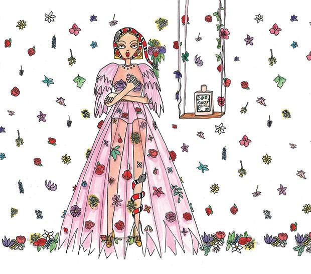 Beleza Gucci (Foto: Divulgalção)