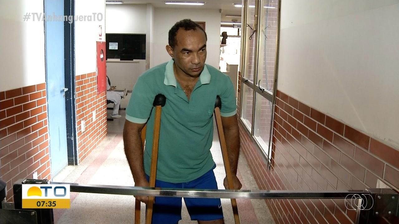 Pedreiro que quebrou o pé em acidente de moto espera por cirurgia há quase cinco meses no HGP - Notícias - Plantão Diário
