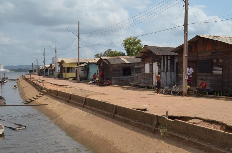 População ribeirinha de Vitória do Jari foi a mais atingida pela poluição (Foto: John Pacheco/G1)