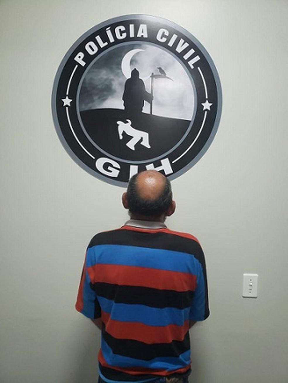 """Alberto Pereira de Deus, conhecido como """"Beto"""" foi preso no DF — Foto: Polícia Civil de Goiás/Divulgação"""