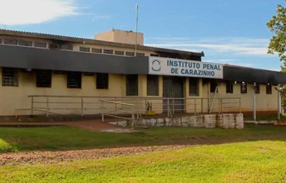 Instituto Penal de Carazinho foi um dos mais atingidos após incêndio ocorrido em março deste ano (Foto: Reprodução/RBS TV)