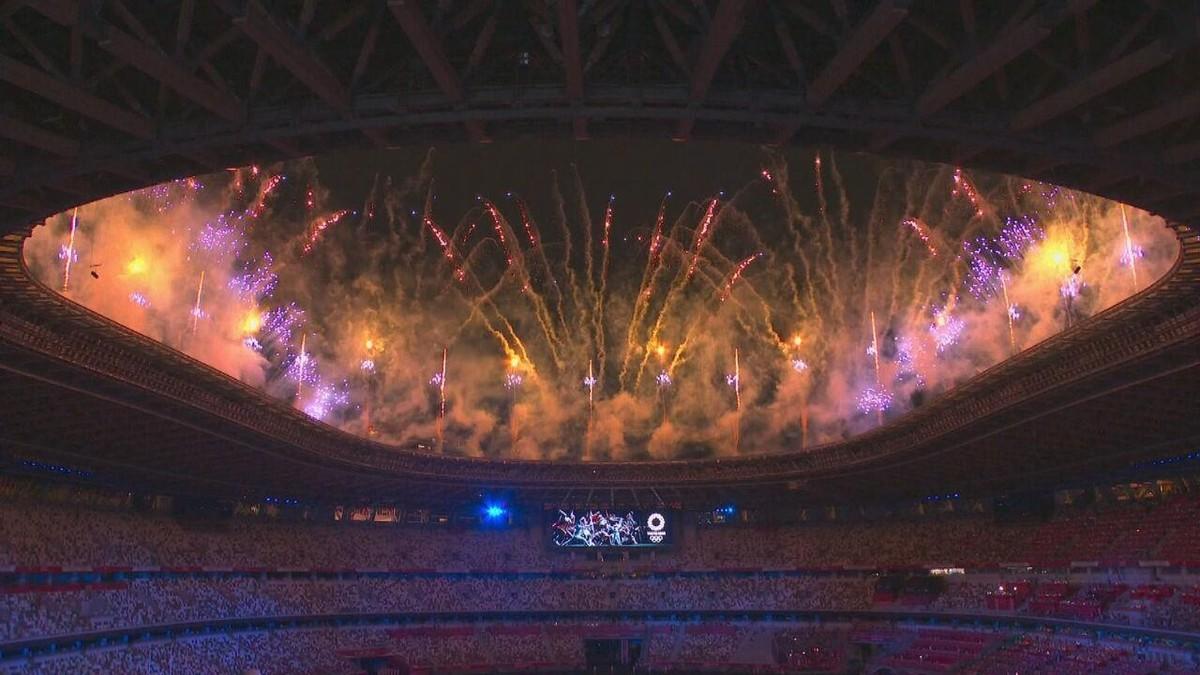 Balé de drones rouba a cena na cerimônia de abertura das Olimpíadas de Tóquio
