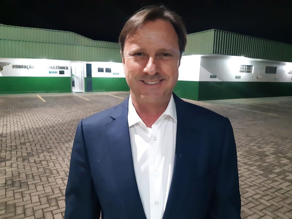 Acir Gurgacz (PDT) é senador por Rondônia  — Foto: Toni Francis/RO