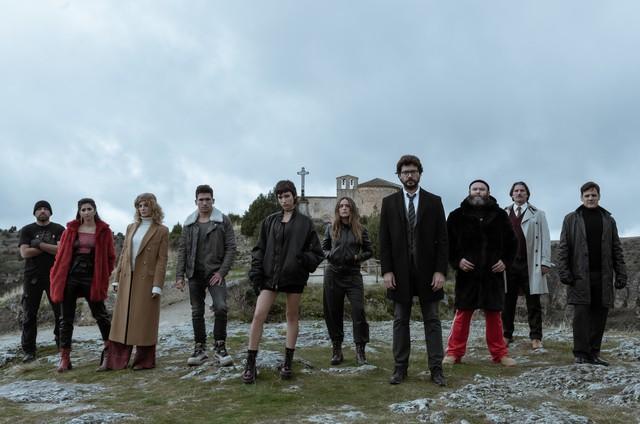 Imagem da terceira temporada de 'La casa de papel' (Foto: Netflix)