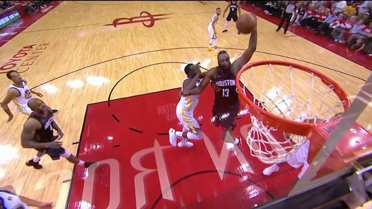 Herói dos Rockets, Chris Paul lidera vitória sobre Warriors e sai machucado
